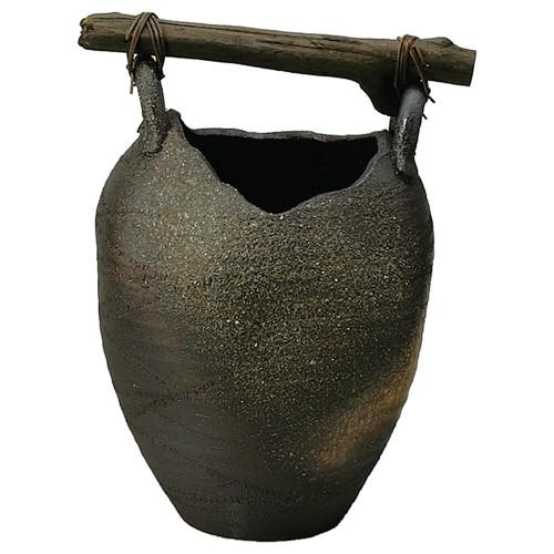 87902-430 壷型流木傘立 業務用食器カタログ陶里30号