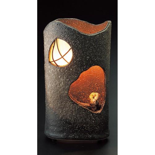 87908-430 窓ふくろうランプ(室内用) 業務用食器カタログ陶里30号