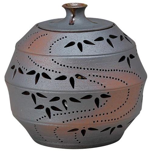 88207-210 灯り花入 丸の竹節笹(小) 業務用食器カタログ陶里30号