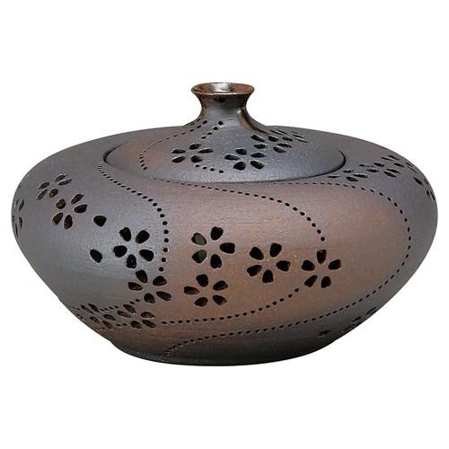 88209-210 灯り香炉 薫香の桜 業務用食器カタログ陶里30号