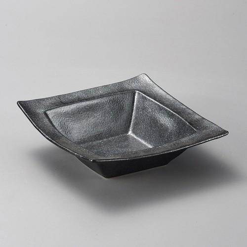 37912-070 黒銀彩角盛鉢|業務用食器カタログ陶里30号