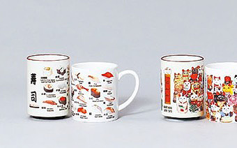 浮世絵 Japanese Tableware (Ukiyoe.Etc)
